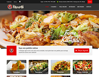 Website Restaurante Kampai