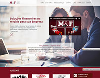 Site Institucional - M&F Consultoria