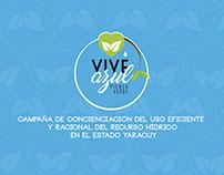VIVE AZUL PIENSA VERDE CAMPAÑA PUBLICITARIA