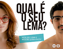 "Campanha ""Qual é o seu Lema?"" | Lema21 Smart Eyewear"