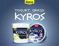 Yogurt Griego KYROS (Carabobo)