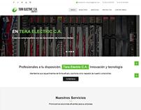 Sitio web informativo tera electric