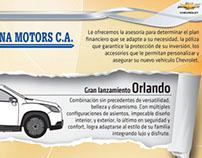 Aviso Castellana Motors para la revista Galicia