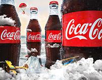 Botellas Coca Cola 3D - PS