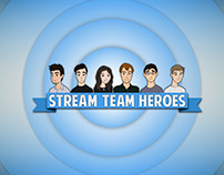 Cartoons For Stream Team Heroes