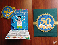 Diseño Tarjeta 50 Años