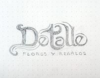 """""""Detalle"""" Branding sketch"""