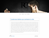 Own Theme RCubillan Blog - Wordpress