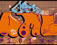 Bomb Graffiti