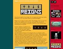 Reseña del juego Reigns