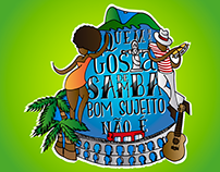 Quem não gosta de samba bom sujeito não é!!