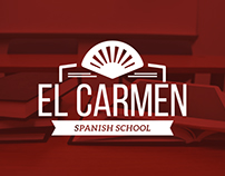 El Carmen Spanish School · Logo Design