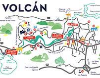 Municipalidad de El Volcán - Branding