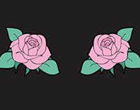 Roses - estampas localizadas