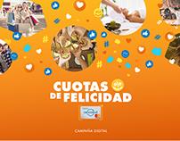 Cuotas de Felicidad - Tarjeta Cencosud Argentina