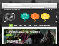 Zerei a Vida|Web Design