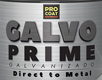 Pro-Coat Galvo line/ Label