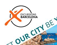 Diseño gráfico Excursions Barcelona