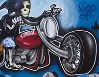 Alguns graffitis de 2015