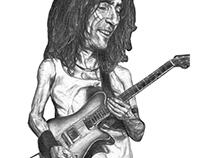 Roberto Iniesta Caricatura
