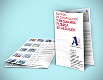 A2 Construcciones: Memo, B. Card and Brochure (2010)