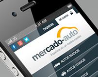 Responsive Design Portal Mercado-Auto