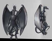 Dragon Humanoide