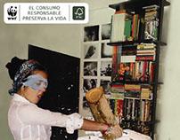 FSC Paper Awareness (WWF) \ greenvertising campaign