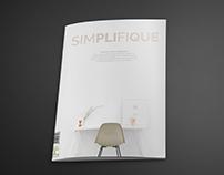 """EDITORIAL DESIGN: """"SIMPLIFIQUE"""" MAGAZINE"""
