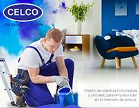 Branding & Web Pinturas Celco