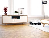 Nativo diseño de mobiliario