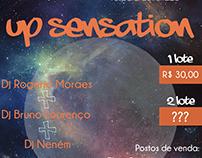 """Criação de Identidade Visual para evento """"Up Sensation"""""""