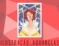 [ILUSTRAÇÃO] Aquarelas Sortidas