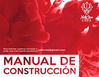 Manual de Construcción #Design #logo #branding