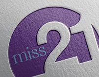 Identidade Visual Miss 21