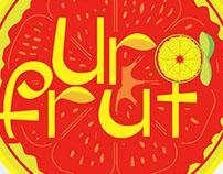 Diseño de logo, UraFrut