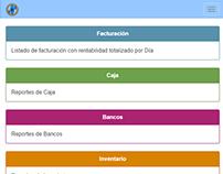 Sistema de reportes web para Autosoft