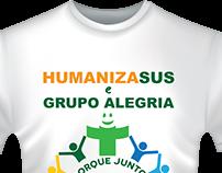 Logo para evento - aplicação em camiseta