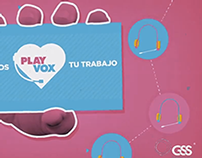 GSS PRESENTA A PLAYVOX