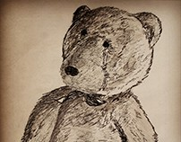 Ilustración tinta sobre papel