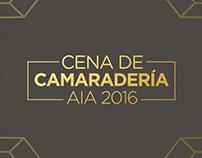 INVITACIÓN | CENA DE CAMARADERÍA AIA