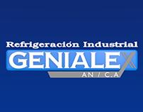 Logo 3D: GENIALEX