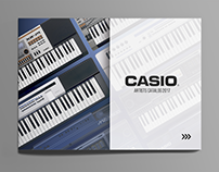 CASIO Argentina Artists Catalog