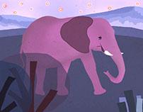 """Animated short film """"Elefante"""""""