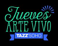 Jueves Arte Vivo | Logo & Flyer design