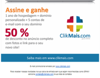 E-mail Marketing para o ClikMais.com