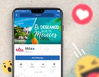 Milla - Agencia de Viajes Social Media