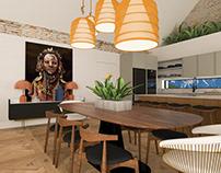 Living 3DMAX + Corona Render