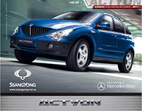 Campanhas SsangYong -Actyon