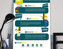 Diseño de infografía – Xing
